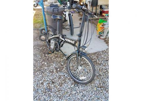 Aomais electric folding mountain bike